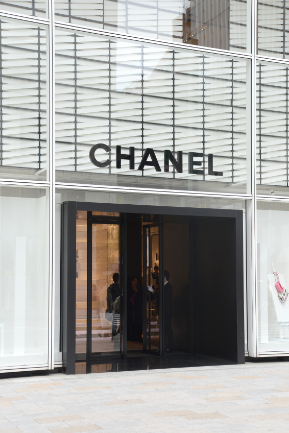 Outside of Chanel store